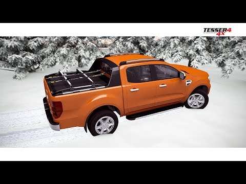 At www.accessories-4x4.com: Roll top cover - roller lid SOT-ROLL series by Tessera4x4 accessories