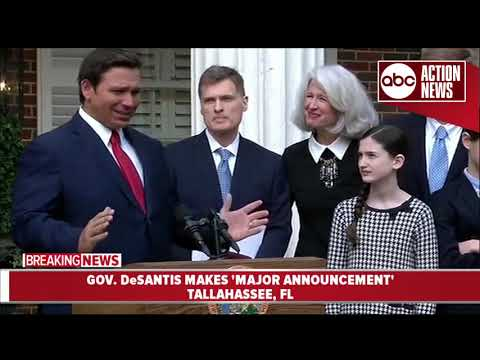 Local News Wire - DeSantis Introduces New Supreme Court Justice Muniz