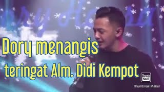 Dory Harsa Menangis Teringat Alm Didi Kempot Ketika Nyanyi Lagu Kangen Nickerie