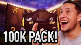 OTW IN FUT DRAFT REWARDS & MY FIRST 100K PACK!! FIFA 18 ULTIMATE TEAM