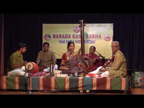Calcutta Srividya | Carnatic Music | Isai Natya Nataka Vizha 2017 | Narada Gana Sabha
