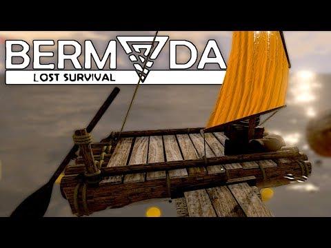 CRÉATION DU RADEAU ! SURVIE/ALPHA (Bermuda Lost Survival #3)