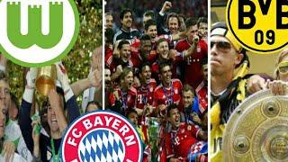 Top 5 | Der Erfolgreichsten Fußballvereine Deutschland