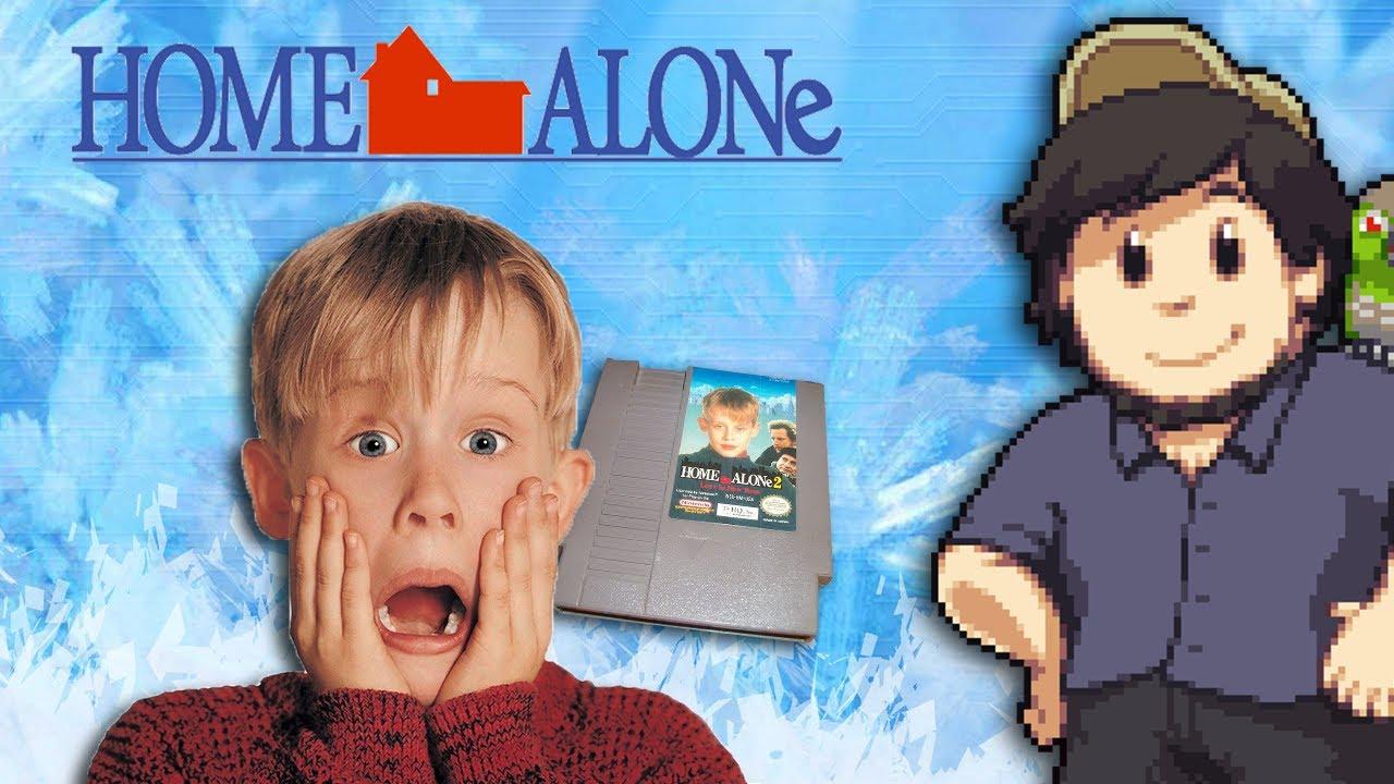 Home Alone Games - JonTron - Clip.FAIL