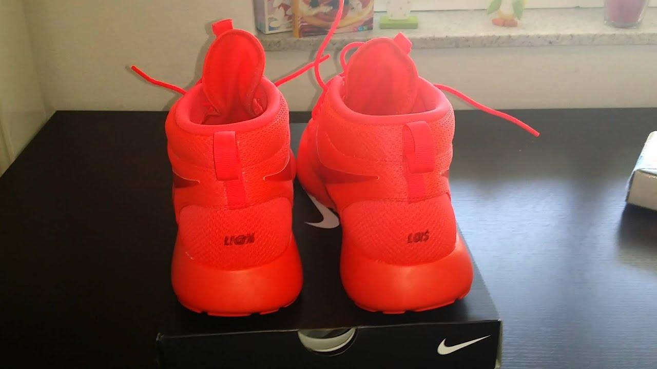 red nike shoes roshe one nike id 855085