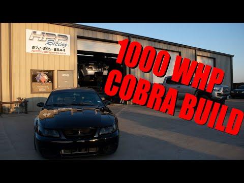"1000+WHP WHIPPLE 04 COBRA    Build & Dyno ""HPP Racing"""