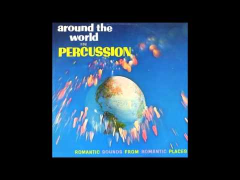 "Irv Cottler ""Around The World In Percussion"" 1962 STEREO FULL ALBUM Exotica Space Age Pop"