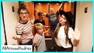 Last To Leave The Elevator Wins! / AllAroundAudrey