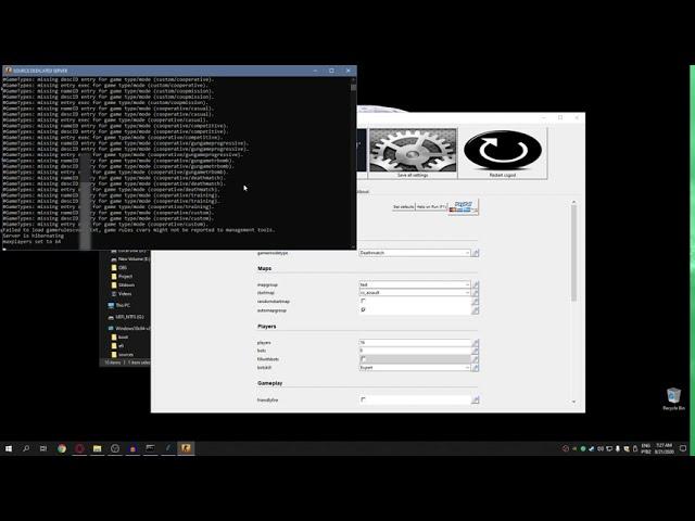 как установить веб сервер на vds