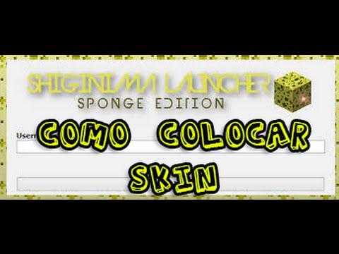 Como Colocar Skin No Shiginima Launcher Minecraft 1.8 2015