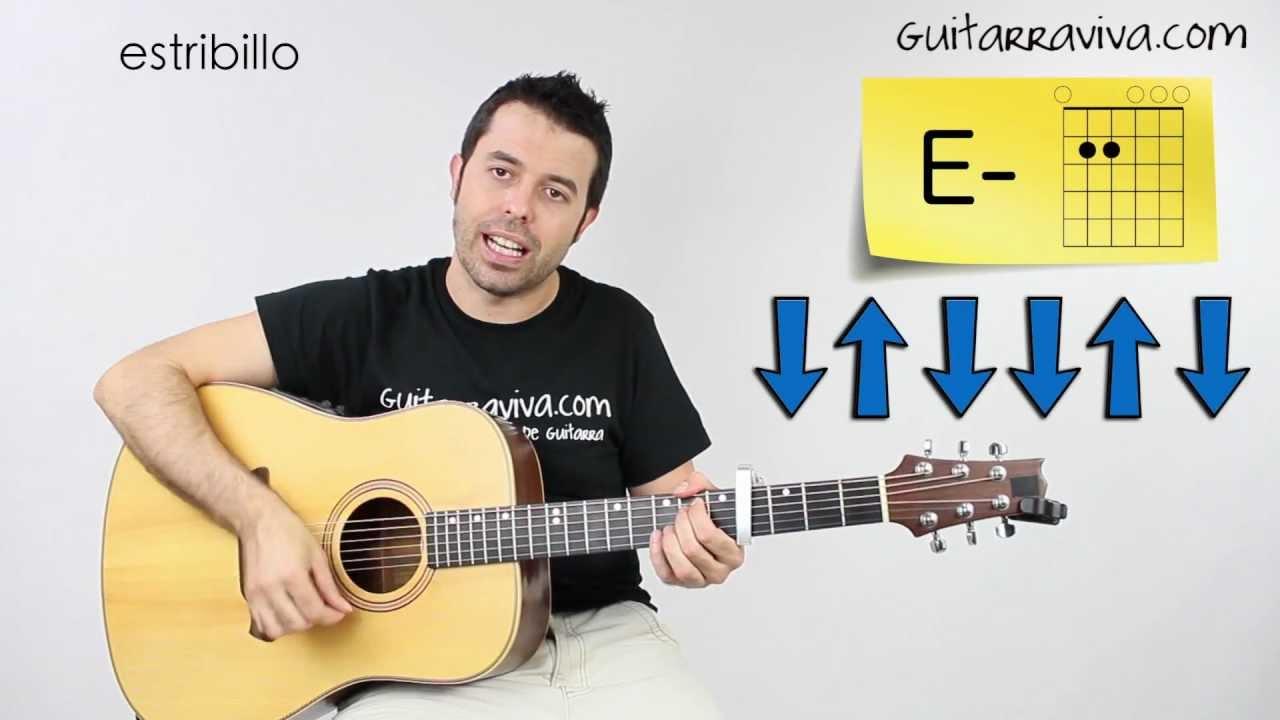 Corre Jesse Joy Tutorial Guitarra como tocar acordes ritmo ...