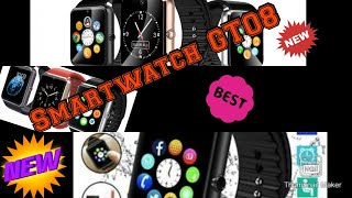 German/Deutsch Bluetooth Smartwatch GT08 Smart Watch for iPhone 6/puls/5S Samsung S4/ Android Phone