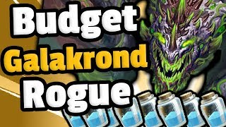 Budget Galakrond Rogue Is Pure Value - Hearthstone Descent Of Dragons