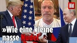 "Arnold Schwarzenegger ""grillt"" den US-Präsidenten"