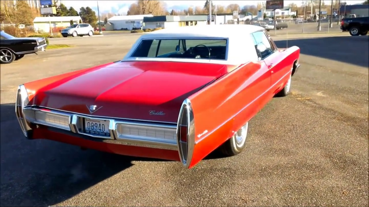 1967 cadillac coupe deville youtube. Black Bedroom Furniture Sets. Home Design Ideas