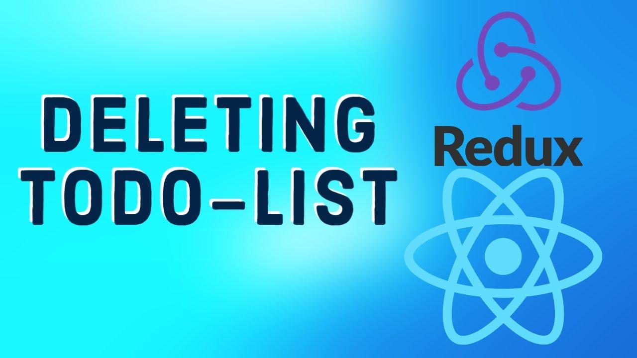 React Tutorial 29 - Todo-List with Redux