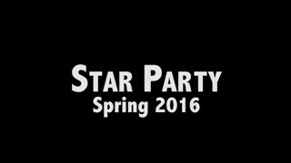 TCNJ's Astronomy Club's Star Party (Spring 2016)