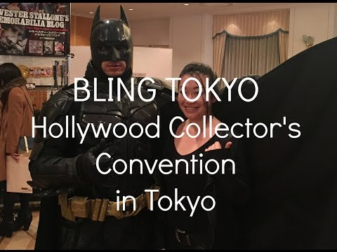 BLING TOKYO Hollywood Collector's Convention 2014 in Tokyo