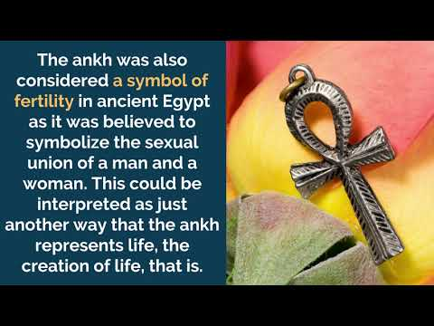 Ankh, The Egyptian Cross Meaning, Symbolism And Origin
