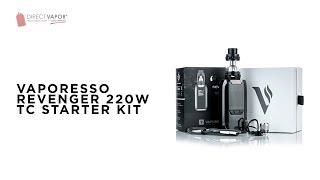 DirectVapor.com Insider: Vaporesso Revenger 220W Starter Kit w/NRG Tank