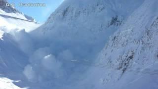 Repeat youtube video Monster Avalanche Sella Nevea  HD