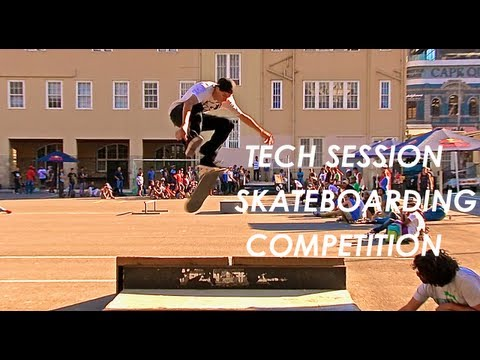 Tech Session Skating Comp (South Africa 2013)