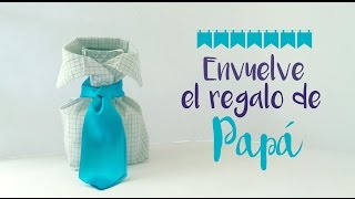 ¡Envuelve el regalo para Papá rápido y muy original! - Blooudland :)