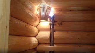 видео Проект срубового дома-бани 8*8 в чащу.