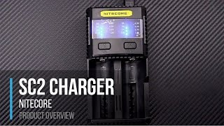 niteCore SC2 Superb Battery Charger Smart Flashlight Battery Charger Overview