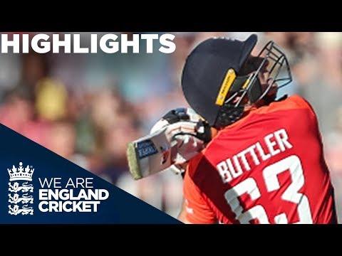 Buttler Leads England To Huge Score | England v Australia IT20 2018 - Highlights