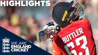 vuclip Buttler Leads England To Huge Score | England v Australia IT20 2018 - Highlights