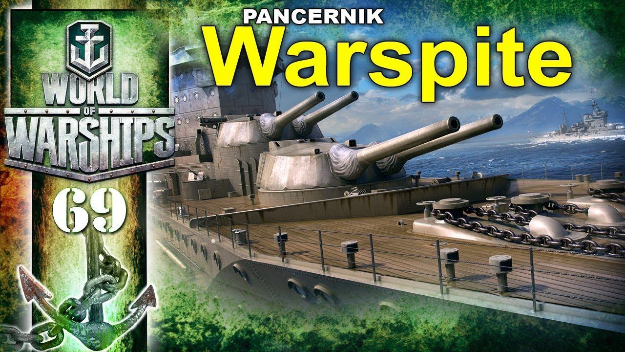 Pancernik Warspite – BITWA – World of Warships