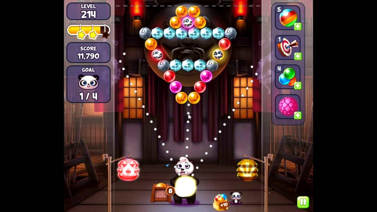 panda pop level 214 youtube. Black Bedroom Furniture Sets. Home Design Ideas