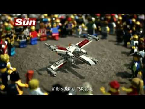 Free Lego Toys With The Sun - X-Wing