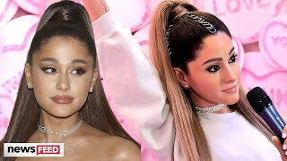 Ariana Grande Fans CLAP BACK At &#39Unrecognizable&#39 Wax Figure!