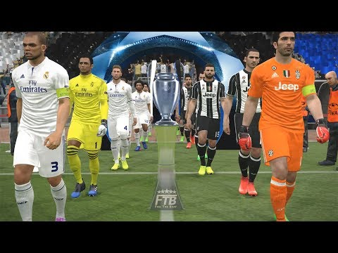 PES 2017 | Juventus vs. Real Madrid | UEFA Champions League