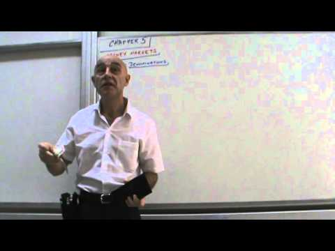 Financial Markets and Institutions - Lecture 08