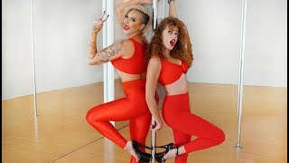 Pole Dancing with the YouTube Stars Mahogany Lox