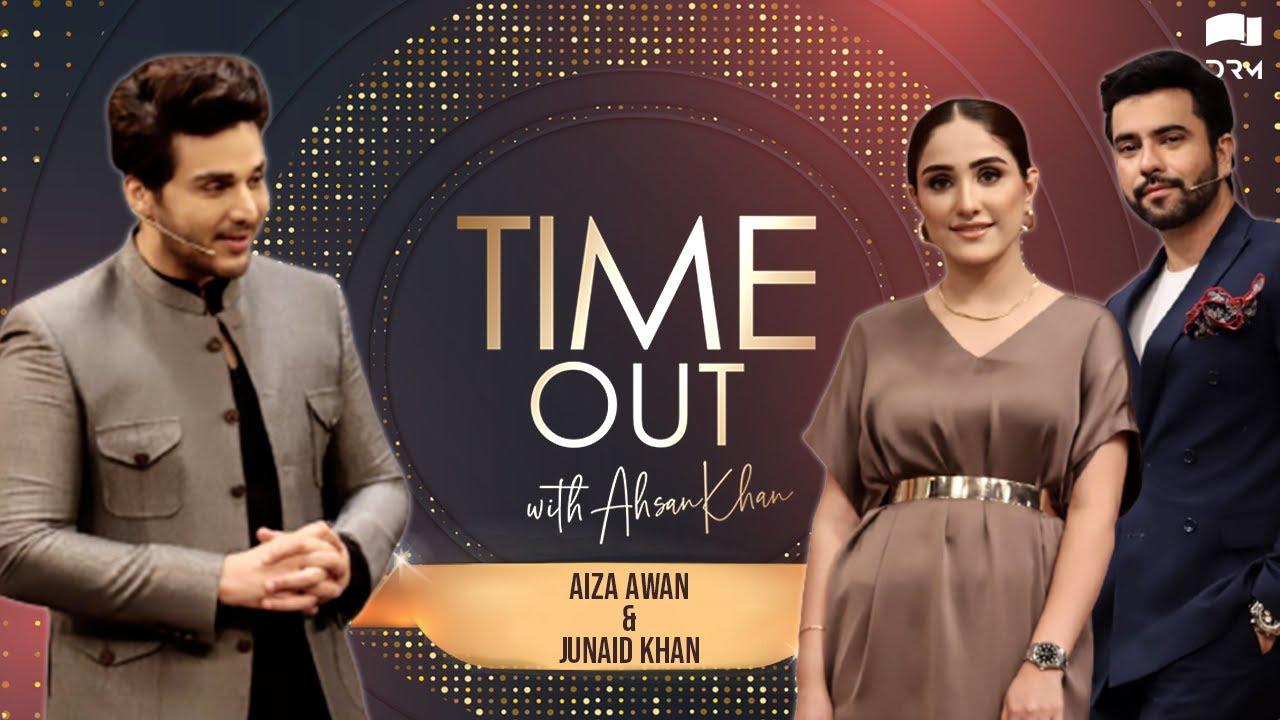 Time Out with Ahsan Khan | Aiza Awan & Junaid Khan | IAB1O | Express TV -  YouTube
