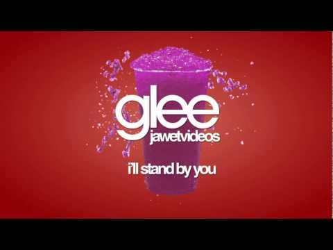 Glee Cast - I'll Stand By You (karaoke version)