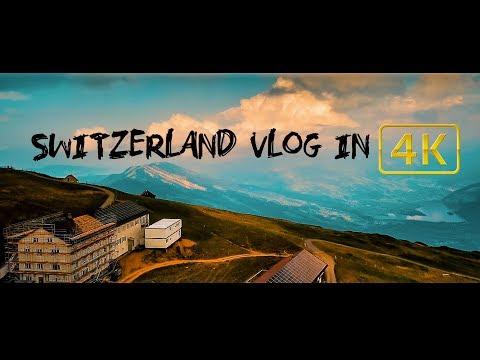 4K CINEMATIC Vlog #Switzerland