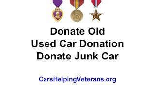 Donate Old  Used Car Donation  Donate Junk Car
