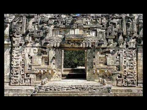 The Mayan Door  Portal To Another Dimension