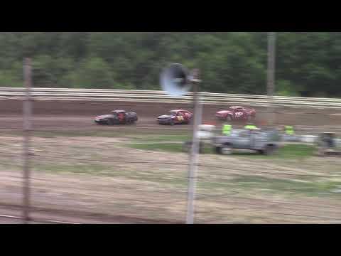 Hummingbird Speedway (6-16-18): Aaron's Four-Cylinder Heat Race #2
