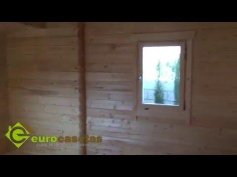 Montaje casa de madera dani dormitorios youtube - Montaje casa de madera ...