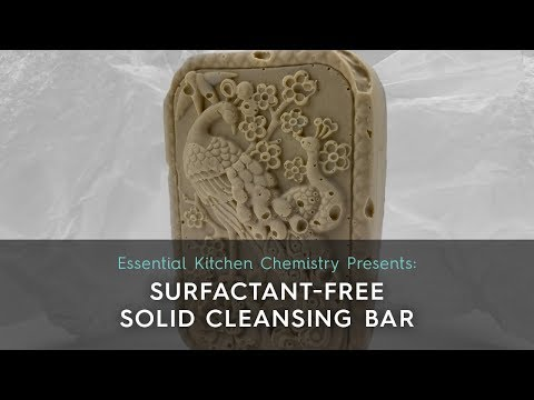 How to Guide: Surfactant-Free Solid Cleansing Bar