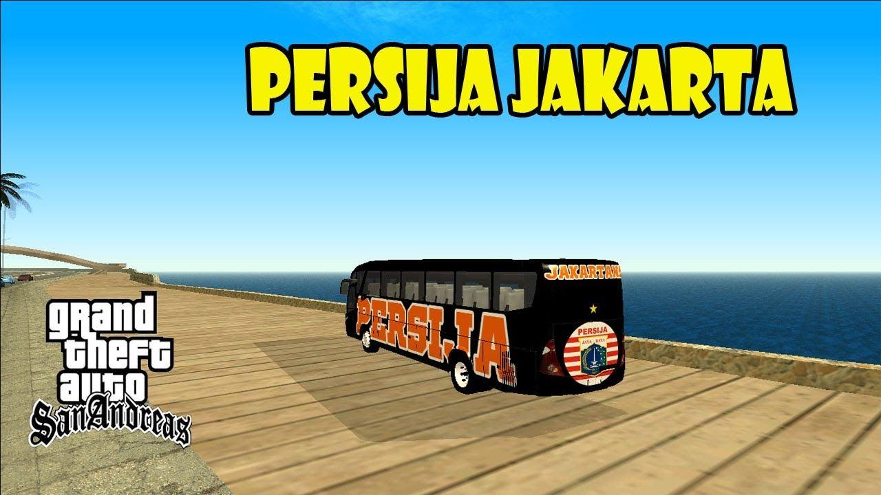 Bus Persija Jakarta Jack Mania Gta Extream Indonesia Mod