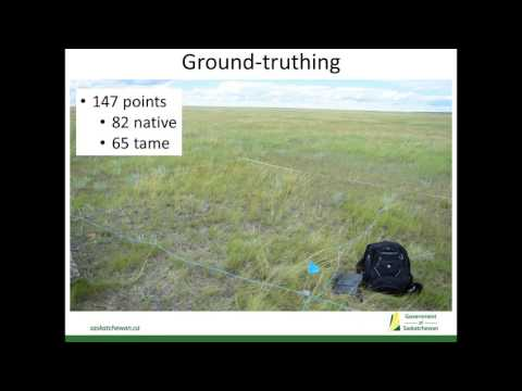 Current Saskatchewan Ministry of the Environment landcover and species-habitat modelling initiatives