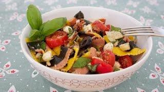 Recipe: Pasta Salad with tomatoes and tuna - italian style - summer recipe recipe diary