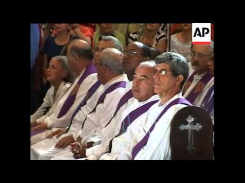 Funeral for Spanish priest murdered in Havana